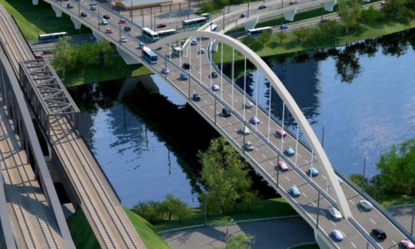 Новая дорога появится вдоль берега Москвы-реки