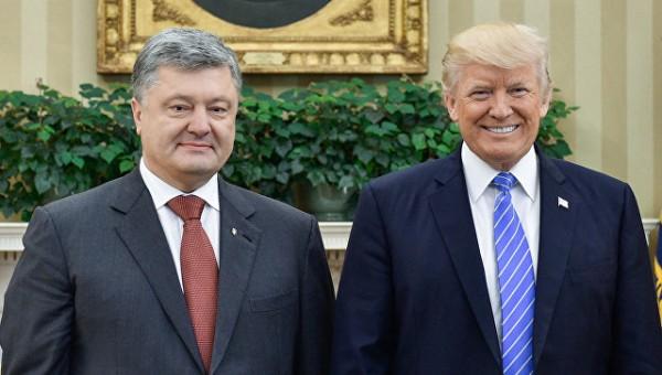 Трамп призвал Порошенко улучшить в Украине бизнес-климат