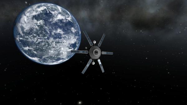 Учёные просчитали дату падения 1,5-тонного советского спутника на Землю