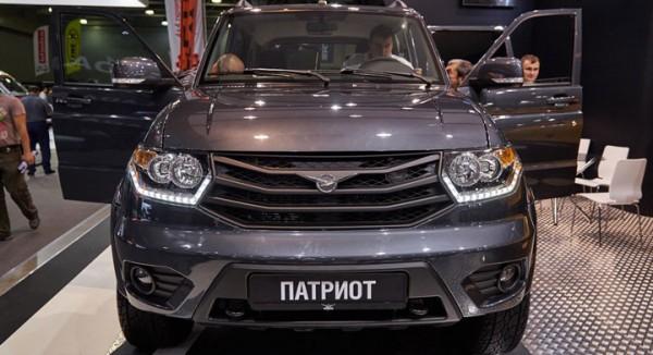 Внедорожник УАЗ Патриот получил новые модификации