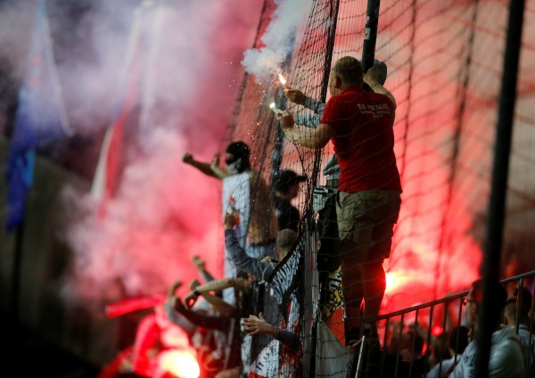 Из-за фанатов УЕФА оштрафовали московский «Спартак»