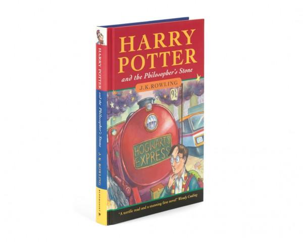 Первое издание книги о Гарри Поттере продали за 81 тысячу долларов