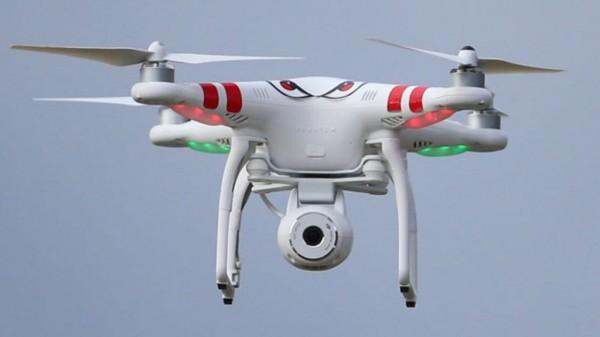 В небе над Лондоном дрон столкнулся с НЛО и исчез