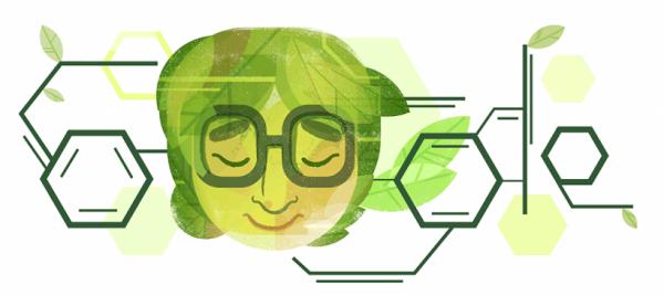 В новом Google Doodle появилось изображение Асимы Чаттерджи