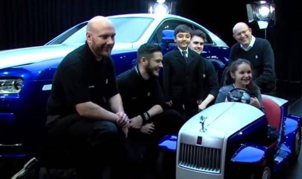 Для детей построили удивительный Rolls-Royce