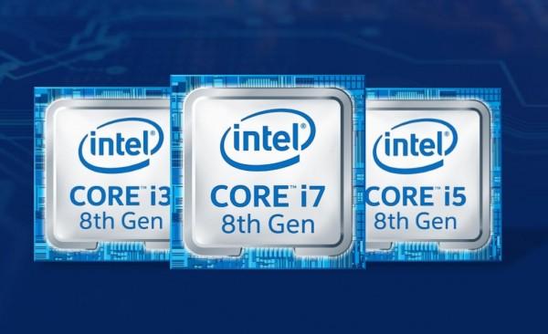 Intel представила новые процессоры восьмого поколения