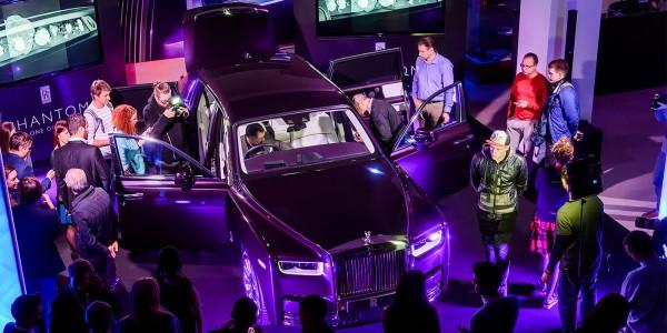 В Москве представлена самая дорогая модель Rolls-Royce Phantom