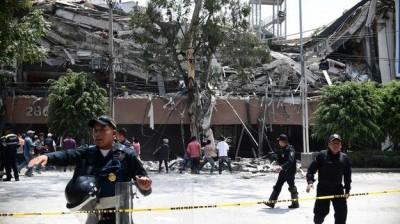 В Мексике из-за землетрясения отменили матчи кубка страны по футболу