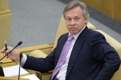 Пушков заявил, что у Порошенко «девичья память»