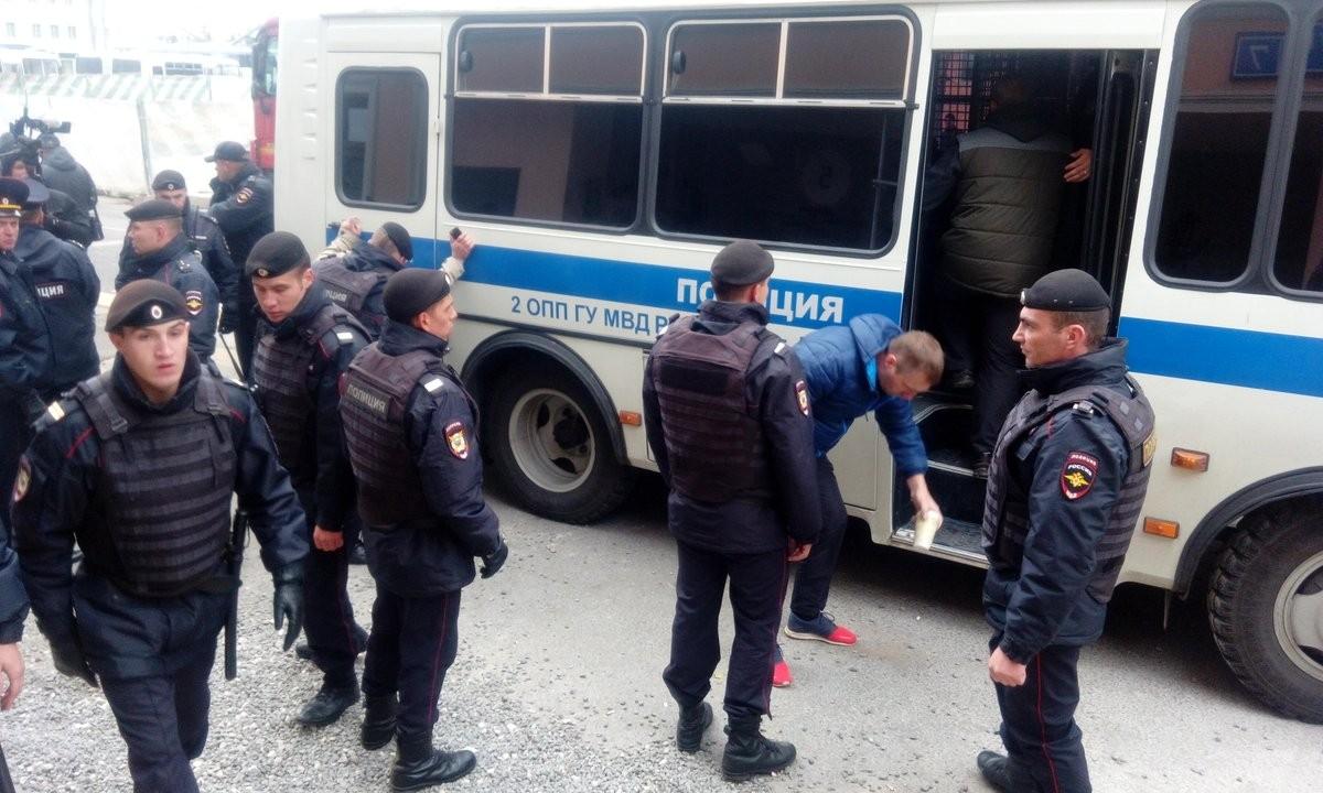 Намитинге против цензуры вглобальной паутине в столице задержано около 20 человек