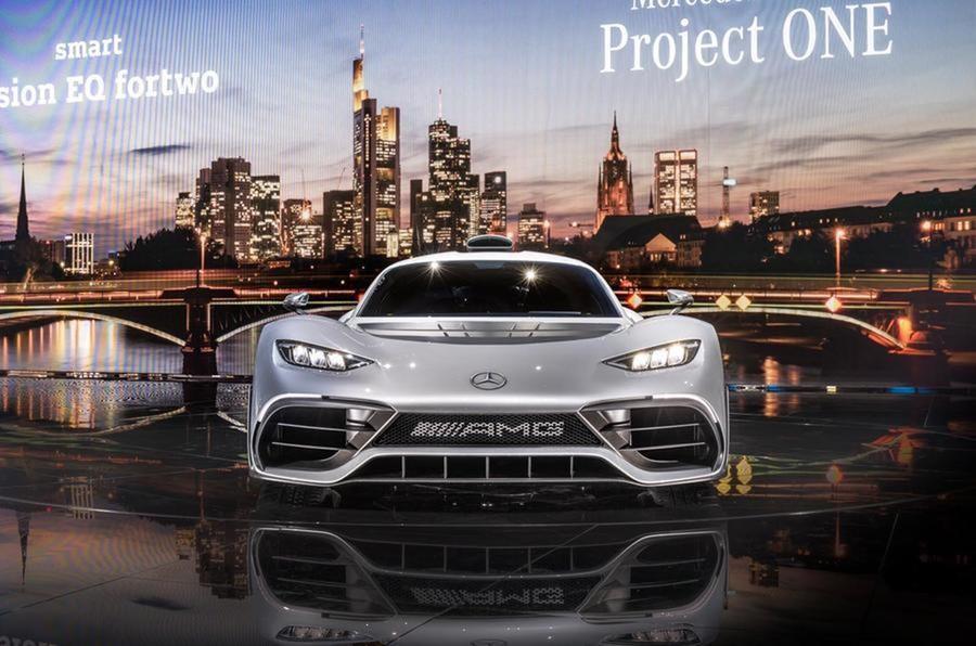 1000-сильный Mercedes-AMG Project One может производиться вСоединенном Королевстве