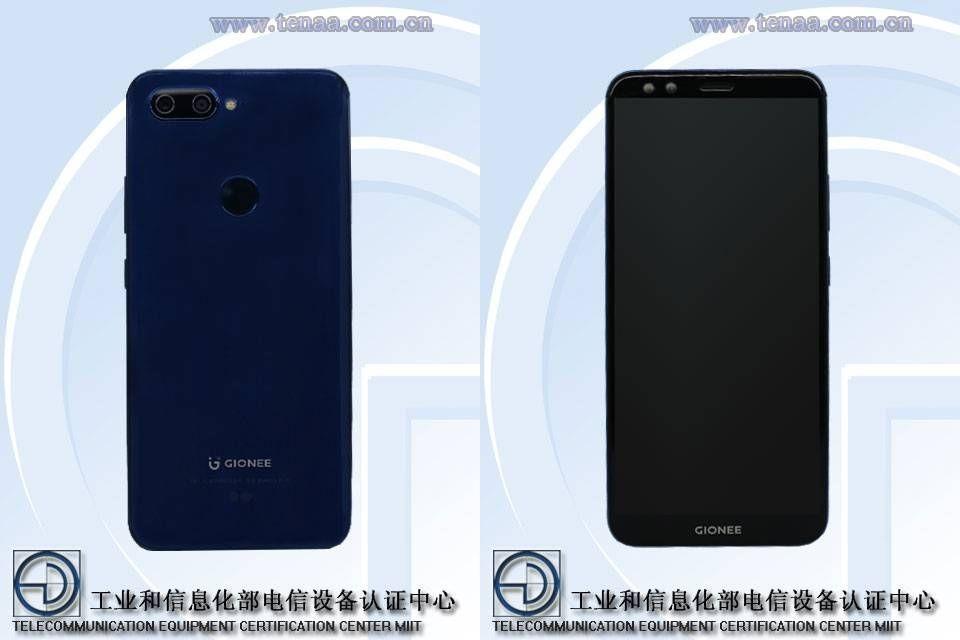 Gionee S11— безрамочный смартфон счетырьмя камерами показался вTENAA