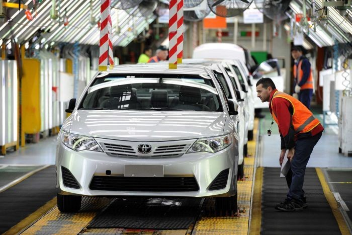 ВАвстралии 2,5 тысячи человек потеряют работу после закрытия завода Тойота