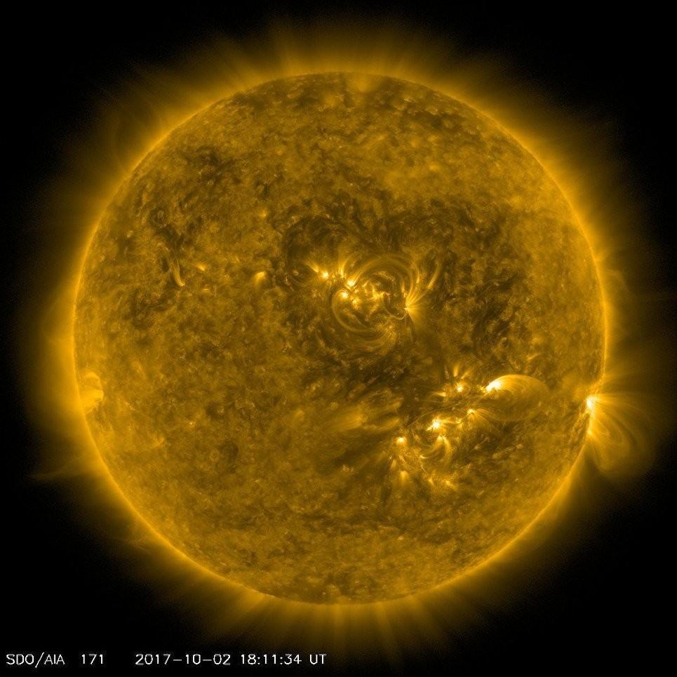 Астрофизики пару часов наблюдали наСолнце фигуру, напоминающую сердце