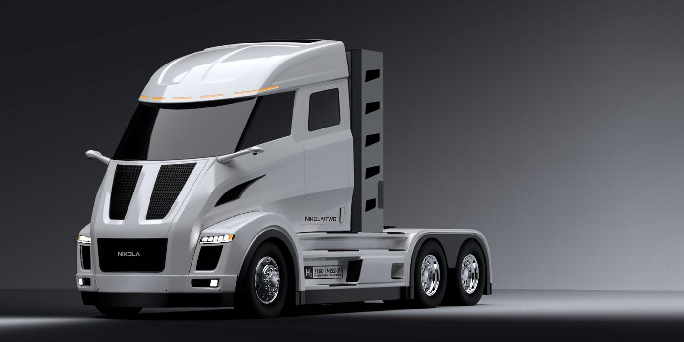 Nikola разрабатывает 1000-сильный электрический грузовой автомобиль