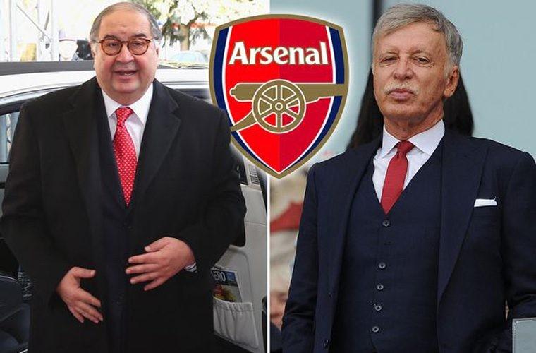 Усманову предложили неменее €590 млн за30% акций «Арсенала»