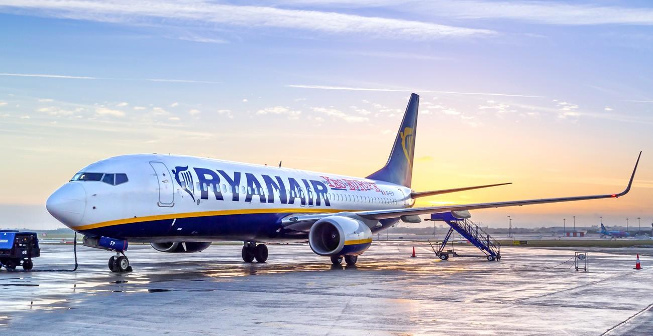 Британские истребители заставили сесть вылетевший изЛитвы лайнер Ryanair