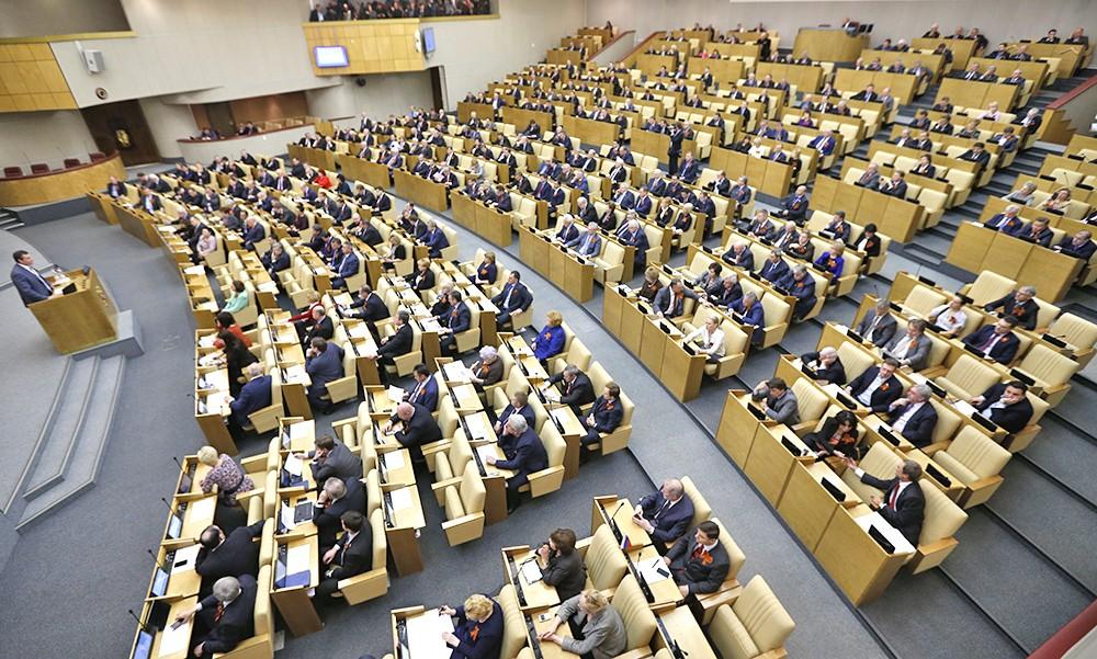ВГД внесен законодательный проект сизменениями вфедеральный бюджет 2017г