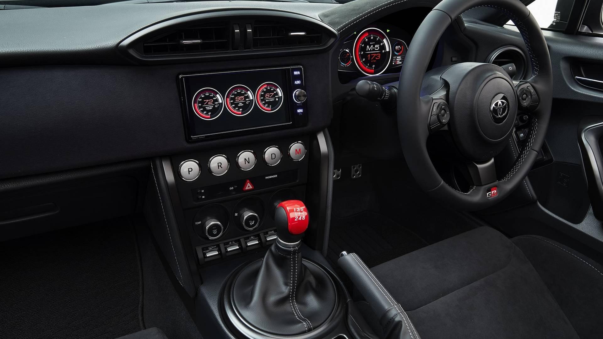 Предвестник новейшей Тойота GT86 получил кузов «тарга»
