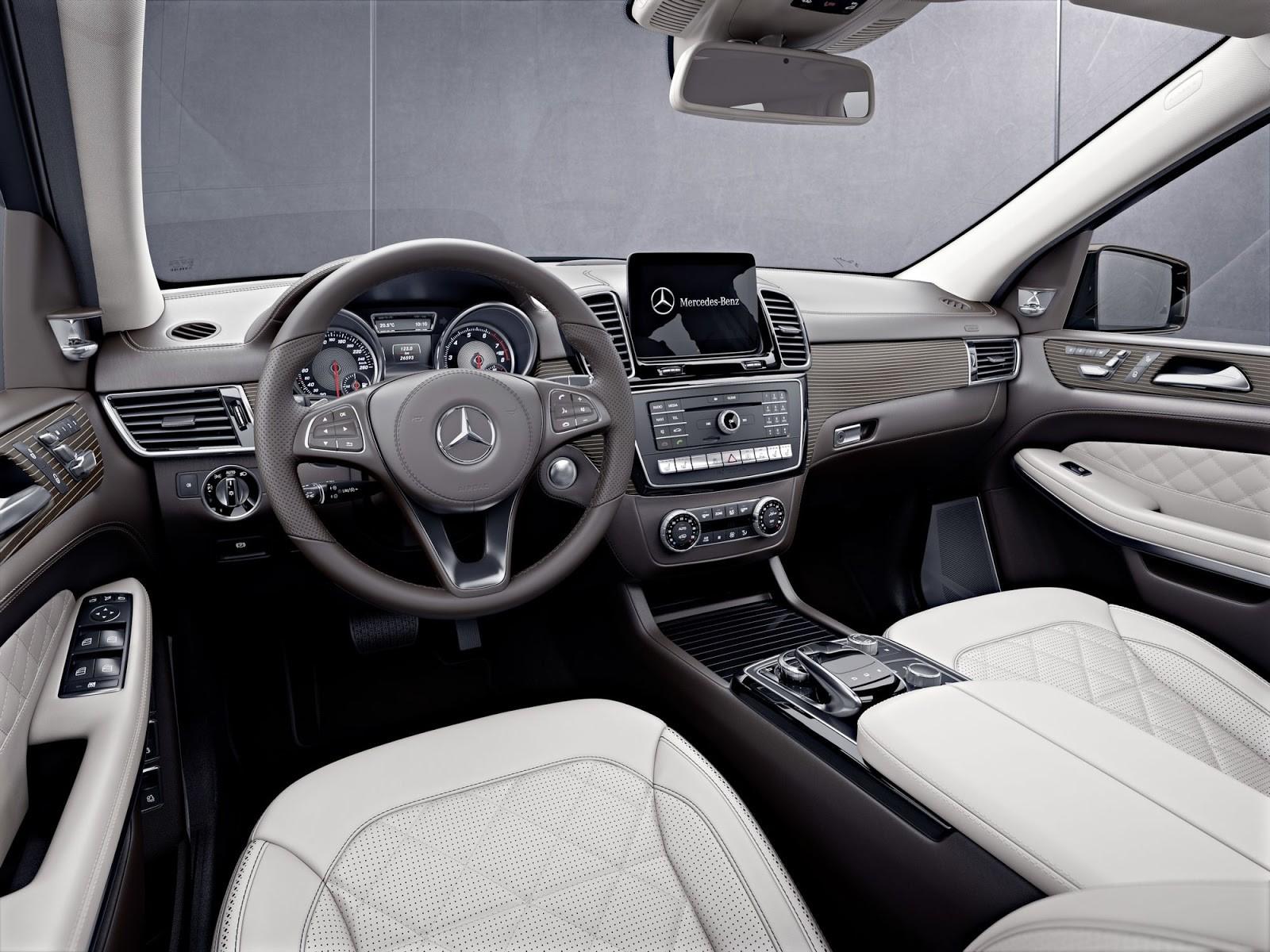 Mercedes представил версию Grand Edition Мерседес Бенс GLS