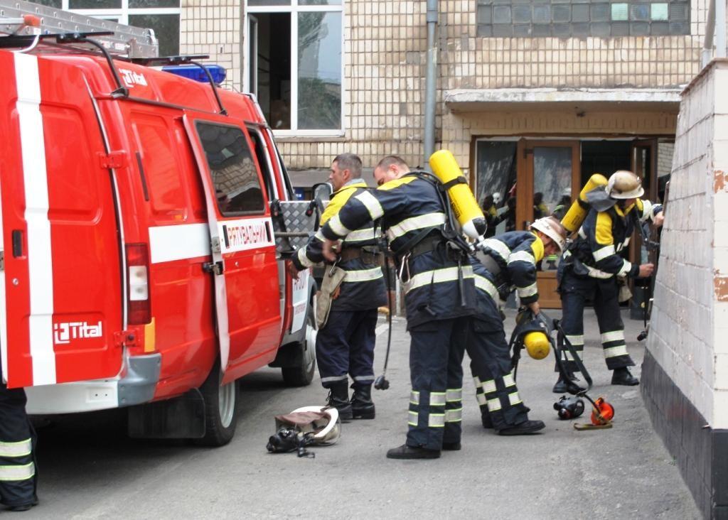 Вжилом доме вКиеве произошел взрыв