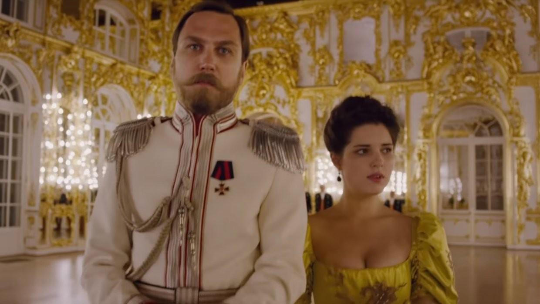 ВКрыму представителям дома Романовых идуховенству показали «Матильду»