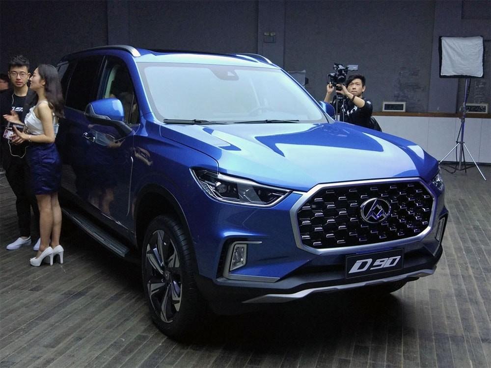 Вседорожный автомобиль SAIC Maxus D90 вышел нарынок