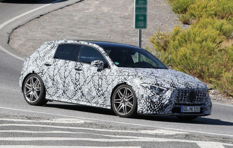 Новый Mercedes-Benz A-Class может дебютировать в Женеве уже в 2018 году