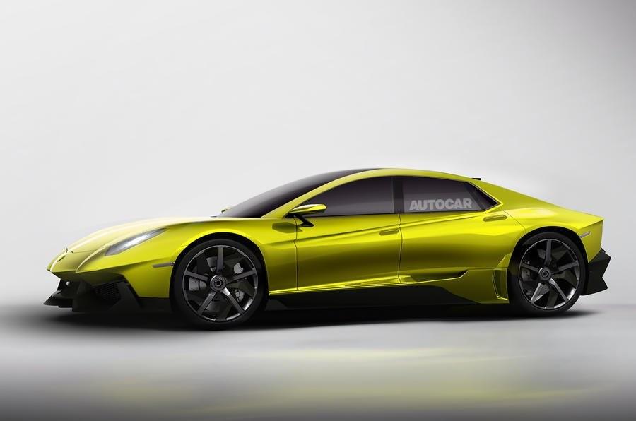 Lamborghini в 2021 построит 1-ый всвоей истории седан