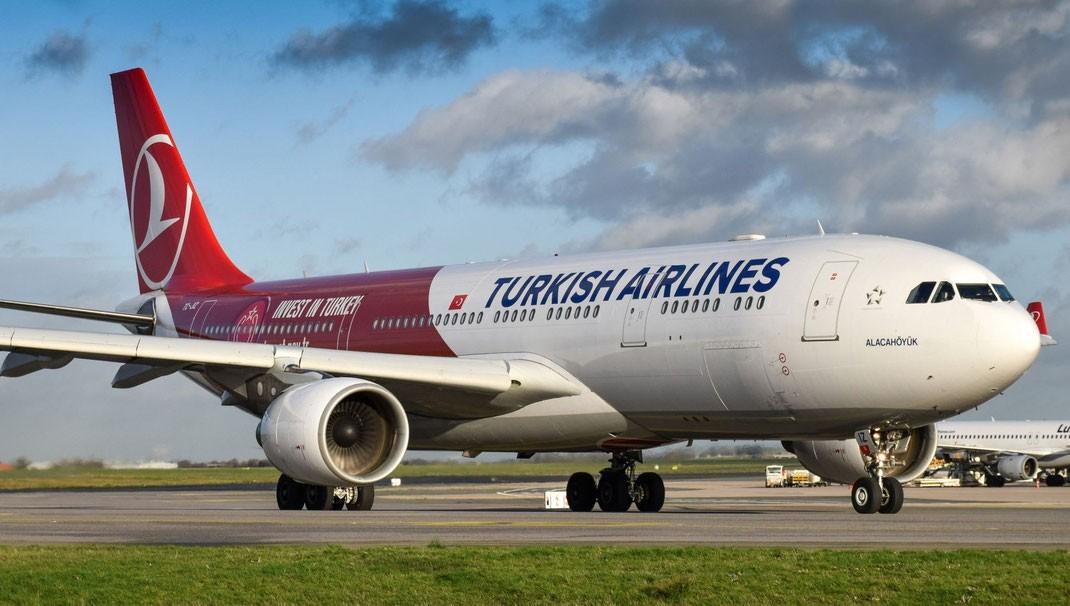 Turkish Airlines экстренно сел ввенском аэропорту из-за дыма