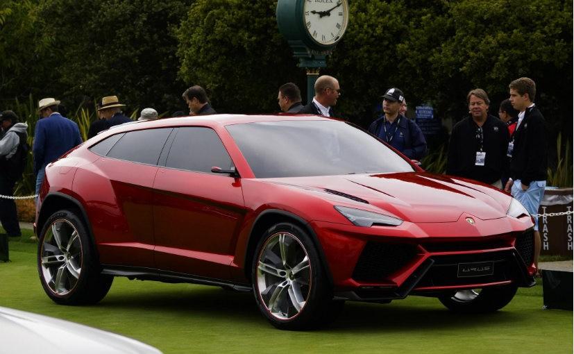 4декабря официально представят вседорожный автомобиль Lamborghini Urus