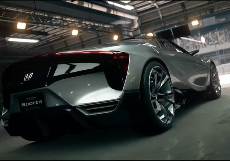 «Младший брат» Хонда NSX дебютирует вигре Gran Turismo