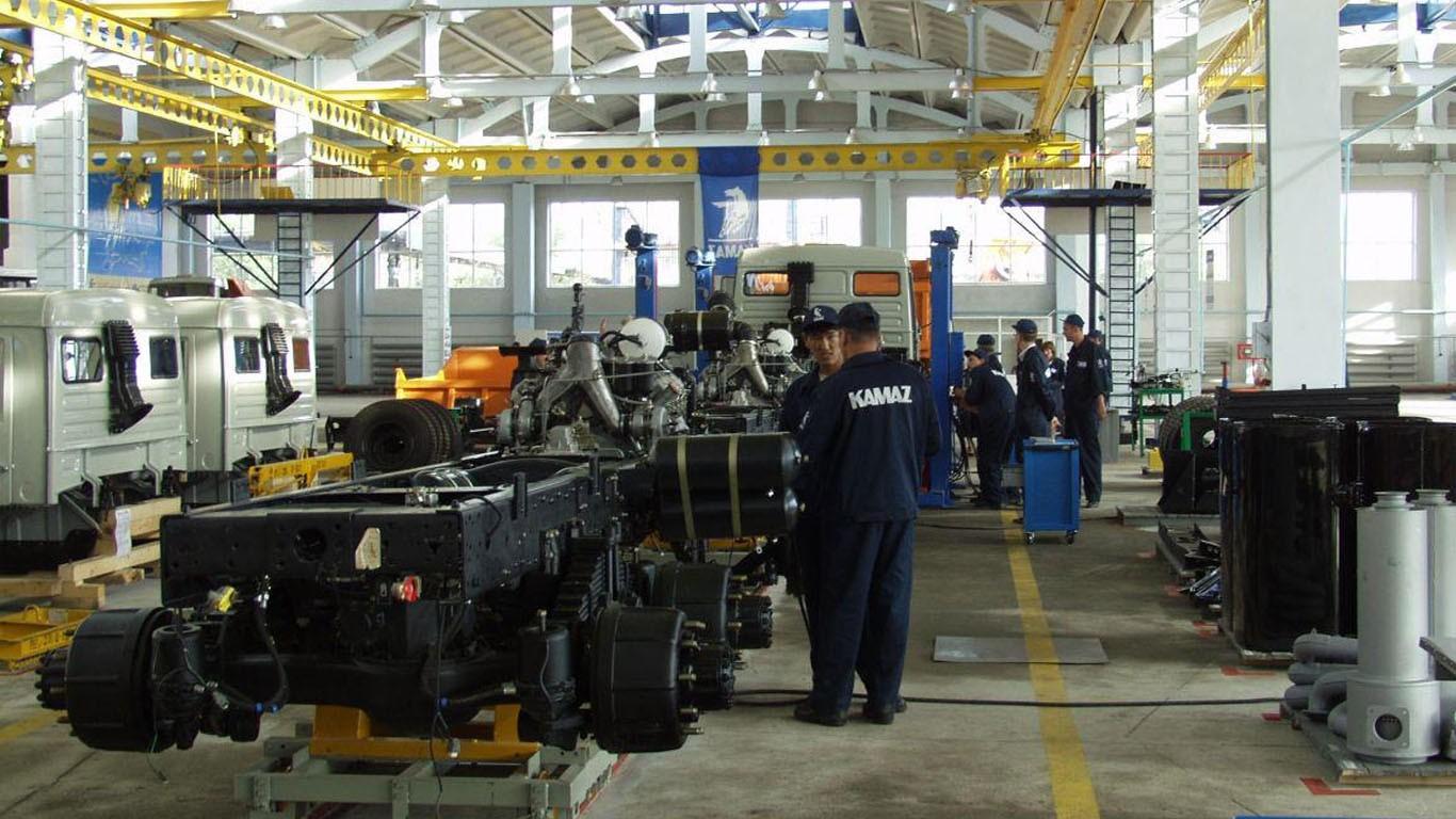«КАМАЗ» поставит шасси для компании UzAuto TRAILER из Узбекистана