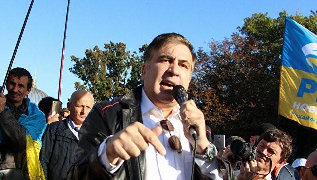 Саакашвили озвучил требования кПорошенко