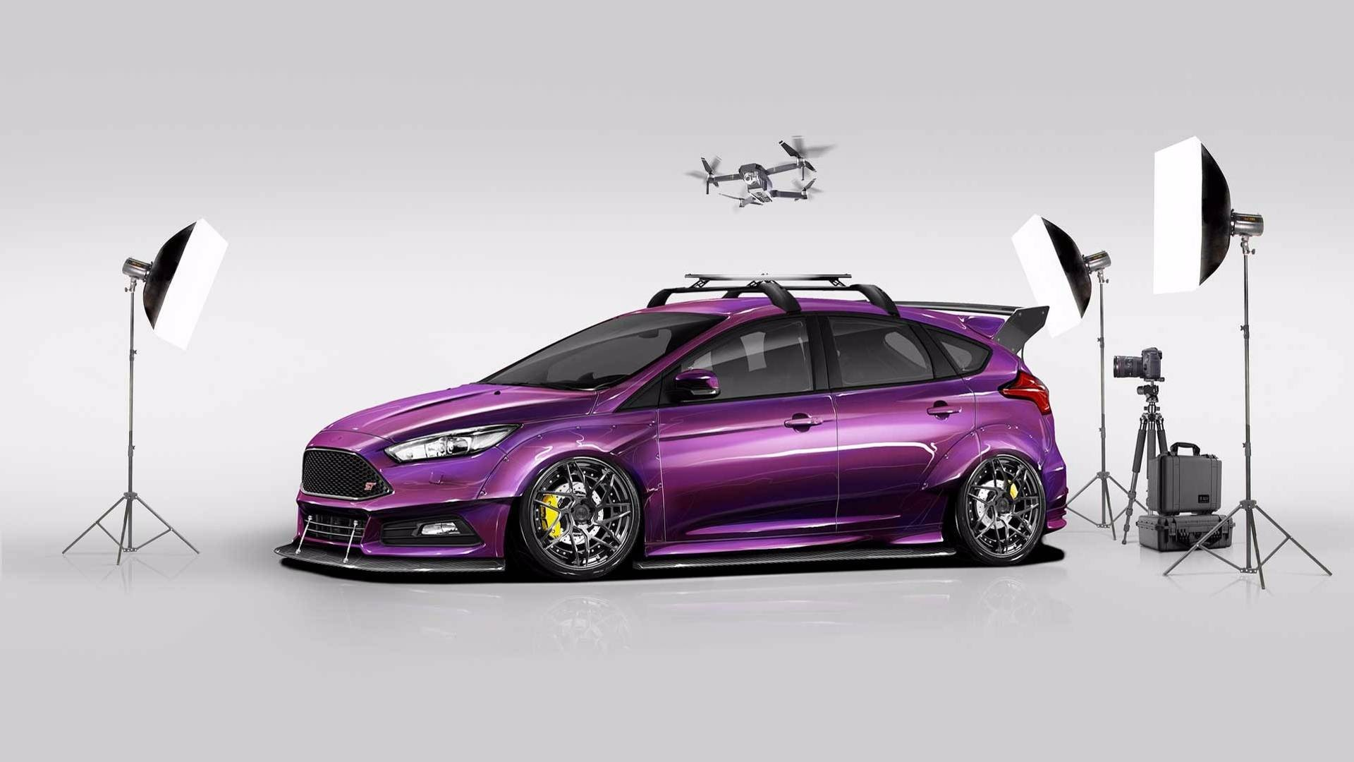 Форд  подготовил несколько «Фокусов» для SEMA