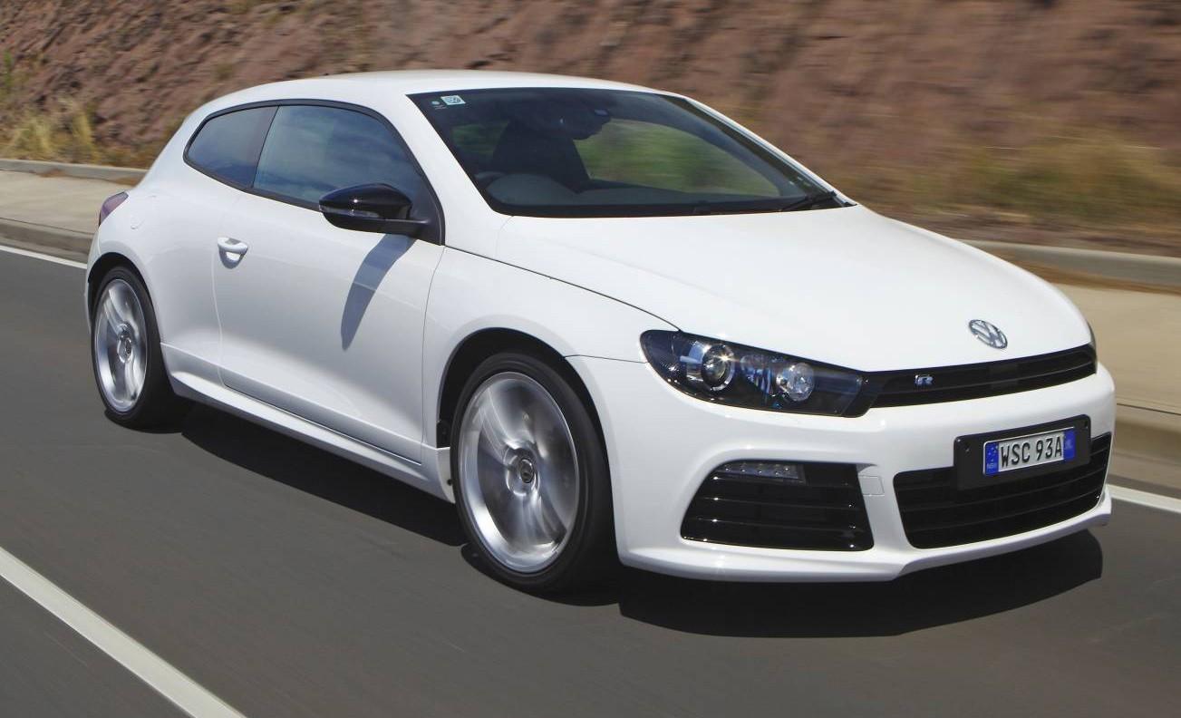 VW снял сконвейера хэтчбек Scirocco