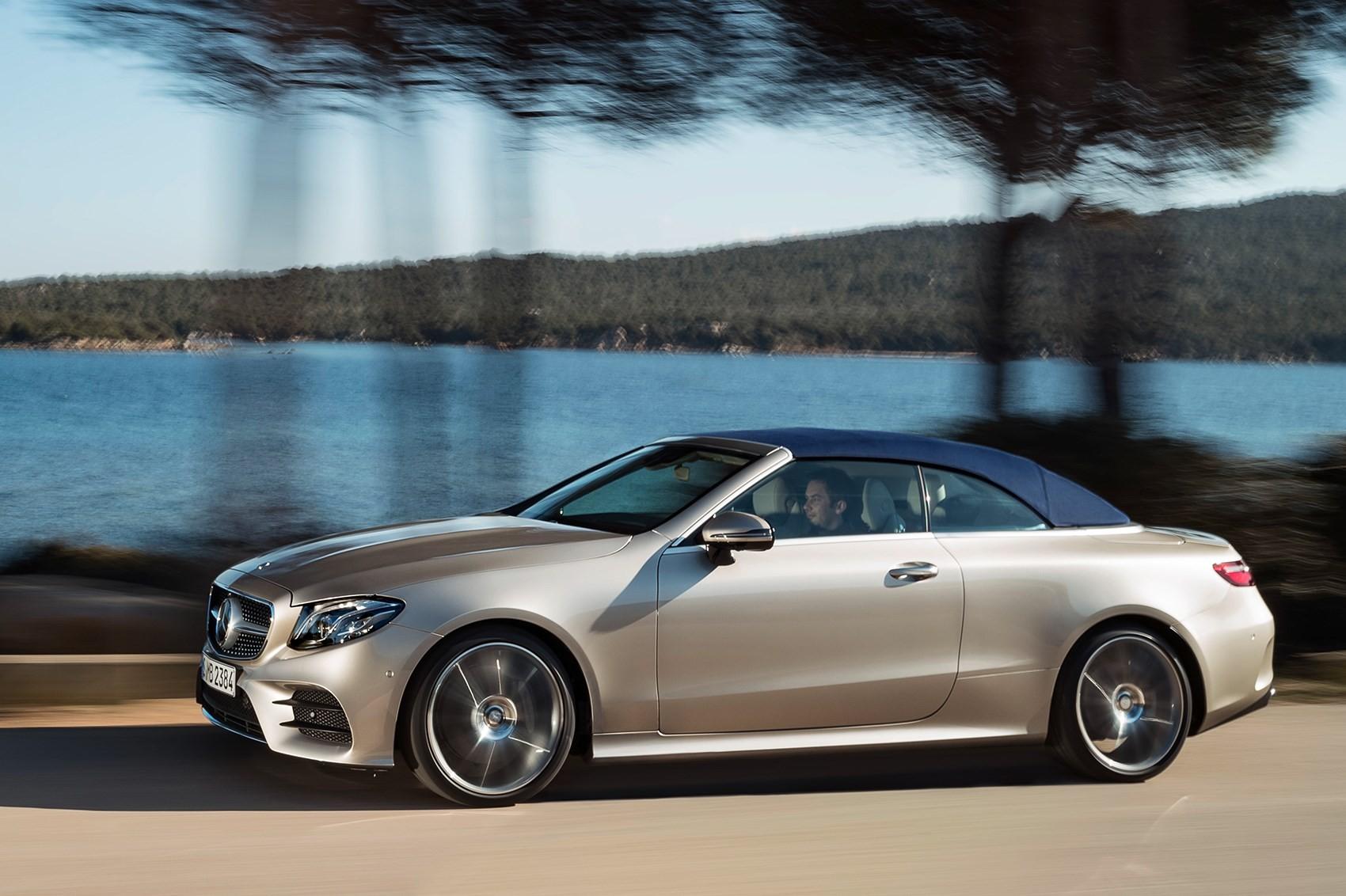 Новый кабриолет Mercedes E-класса: цены в России
