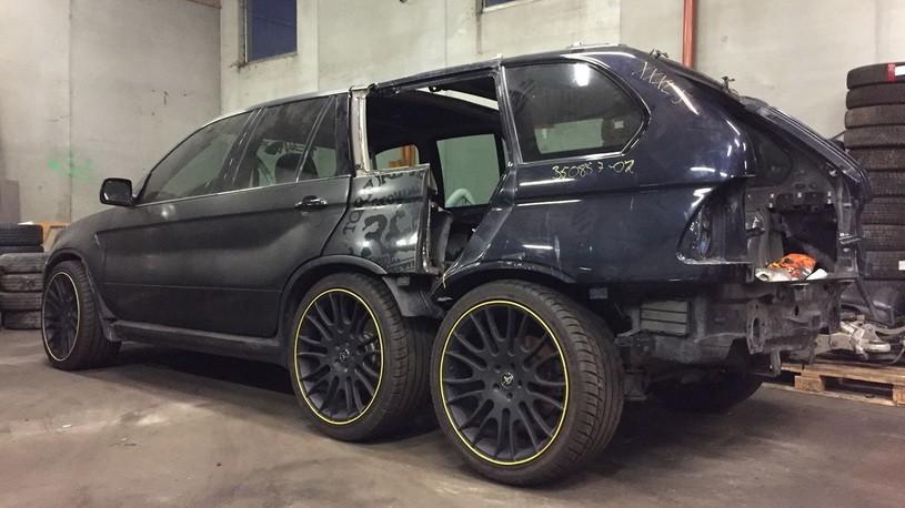 ВНорвегии строят 3-осный БМВ X5 с 2-мя дверьми