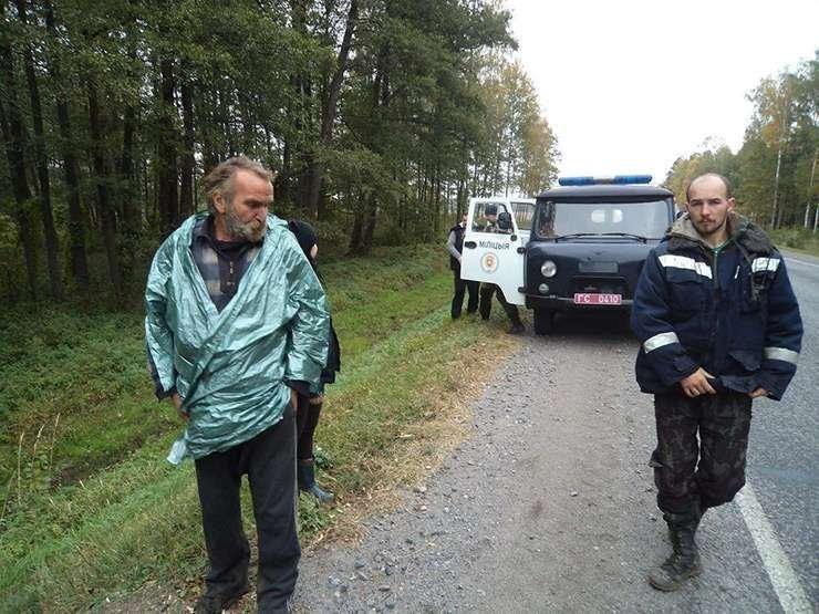Жив, здоров иневредим: Белорусский пенсионер три месяца блуждал полесу