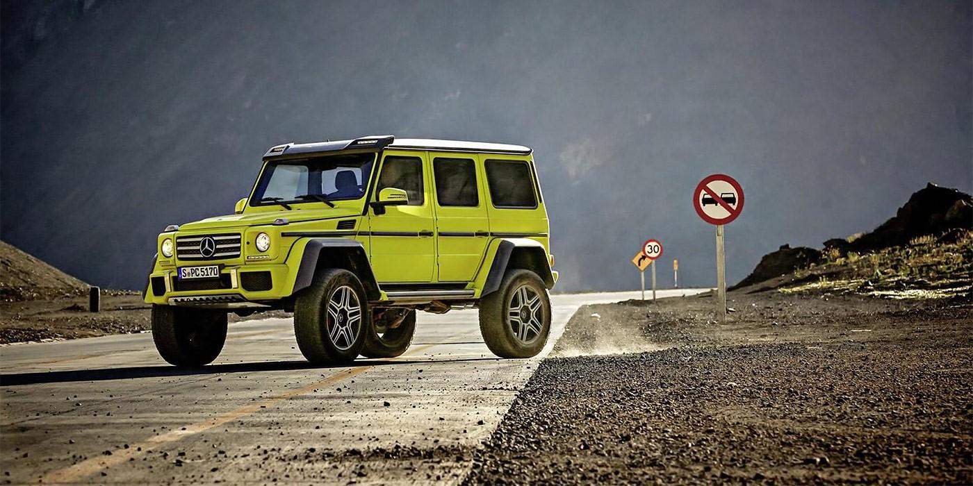 Benz сворачивает производство G500 4x4²