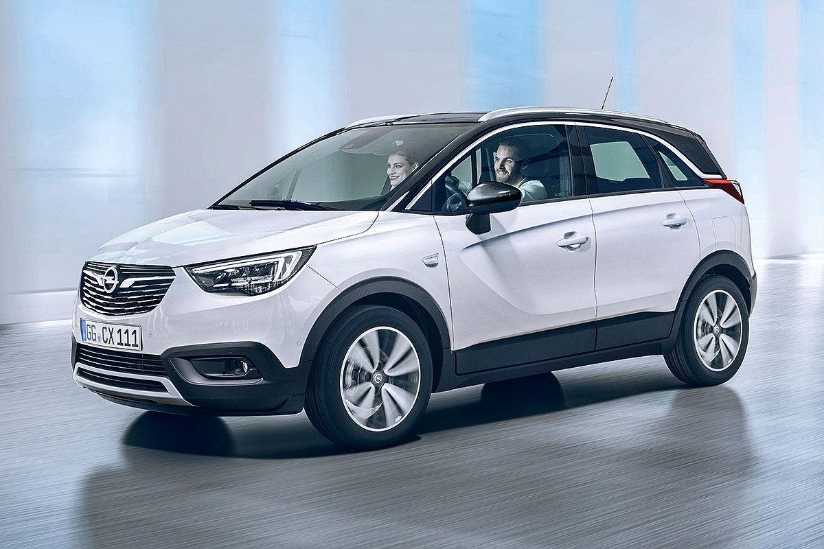 Opel Crossland X получил версию на газе