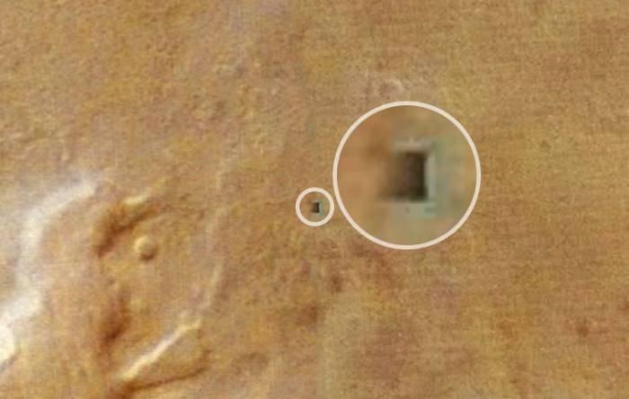 Ученые обнаружили наМарсе заброшенную мини-базу инопланетян