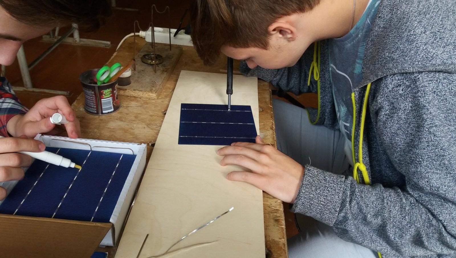 ВНовосибирске школьник изобрел гальваническую электростанцию