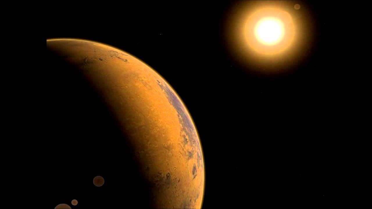 Жизнь наМарсе погибла из-за Солнца