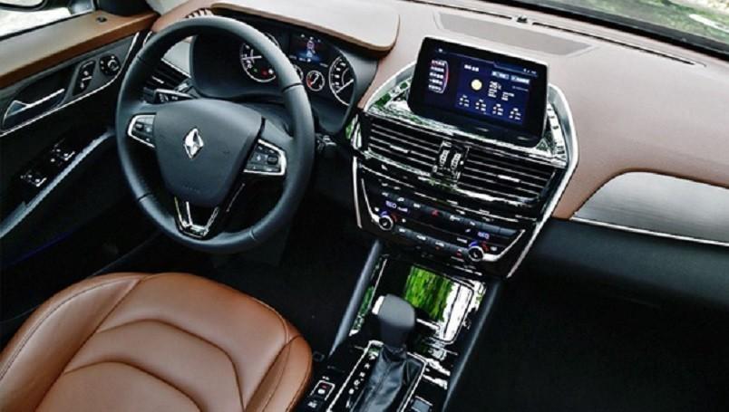 Новое кросс-купе Borgward BX6 рассекречено допремьеры