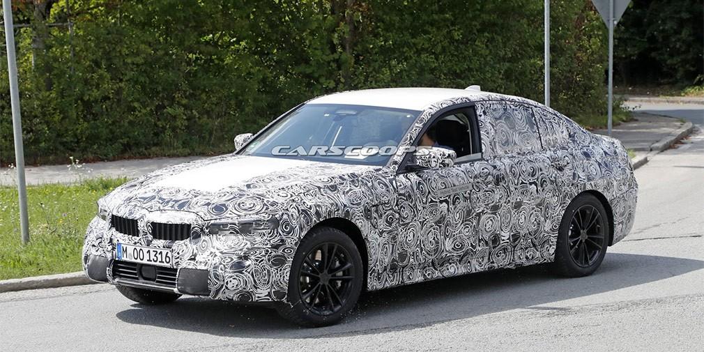 Компания BMW тестирует новую гибридную модель из3-series