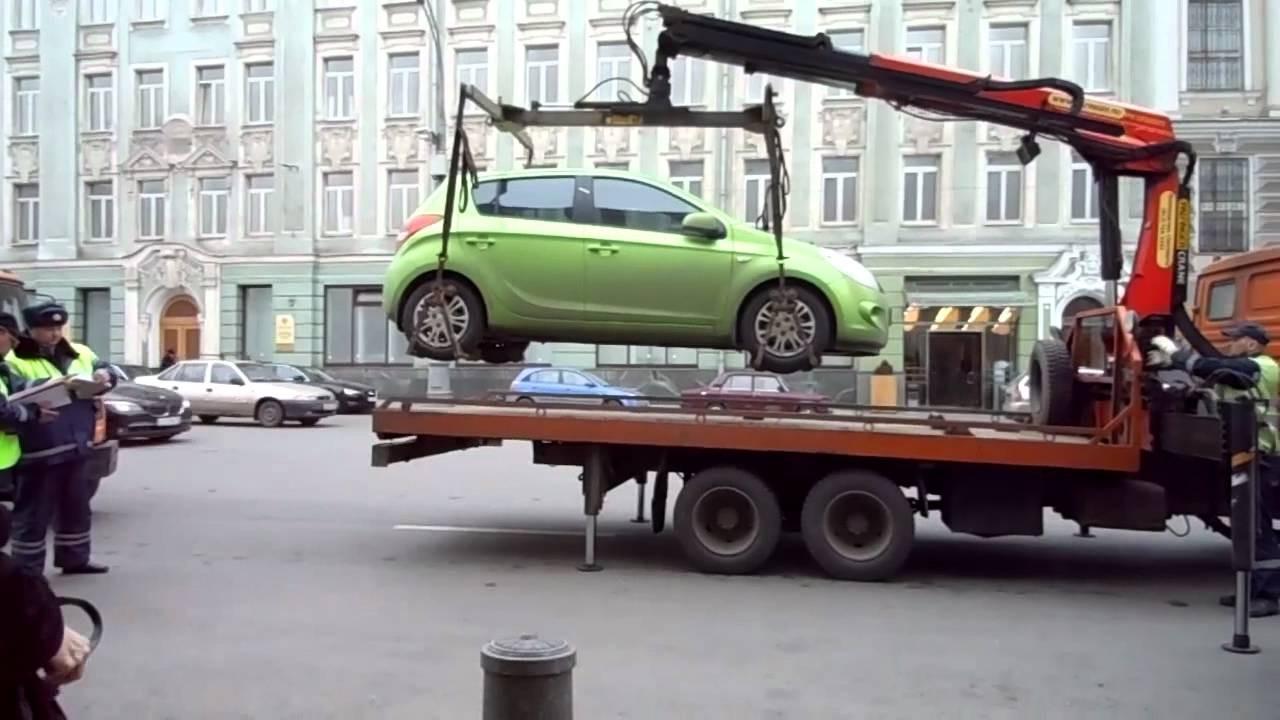 ВСевастополе установили новые тарифы наэвакуацию авто ииххранение