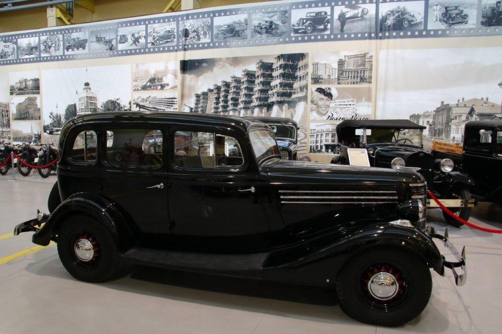 Шестицилиндровая «Эмка» пополнила коллекцию музея автомобильной техники УГМК