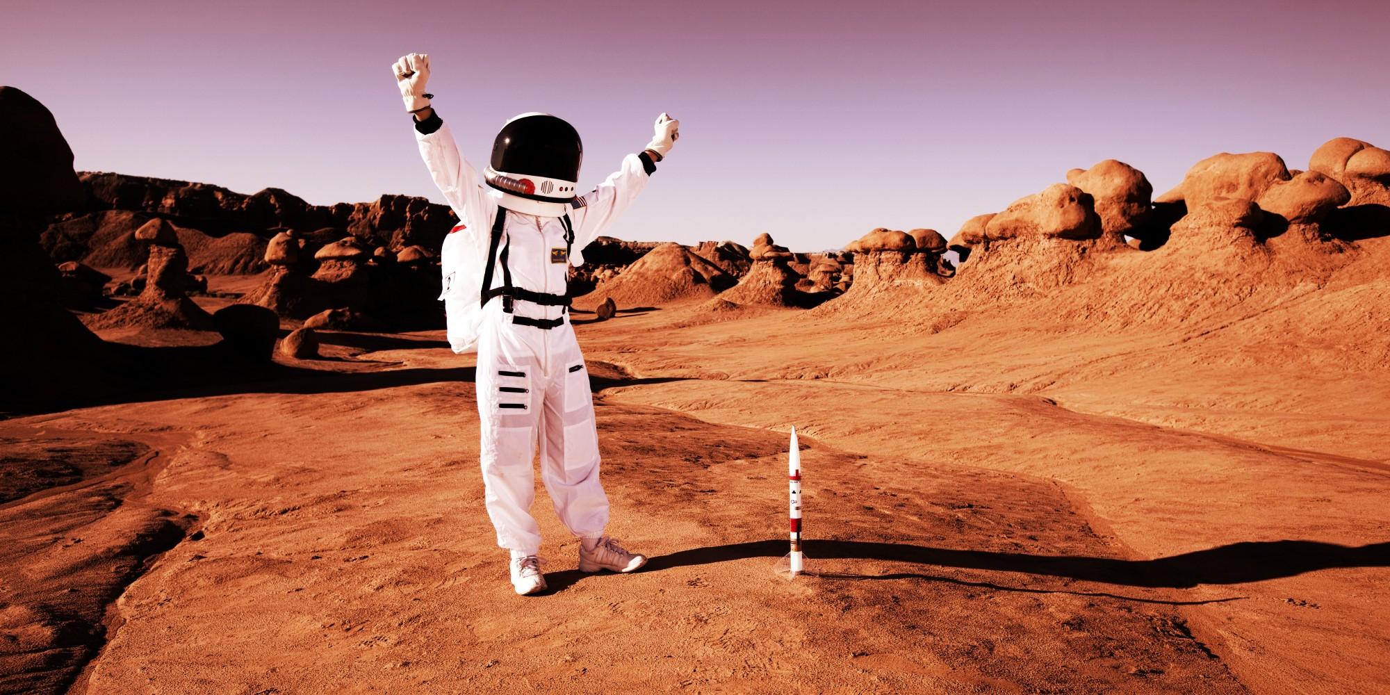 Астрофизики: при помощи плазмы колонизаторы Марса получат кислород