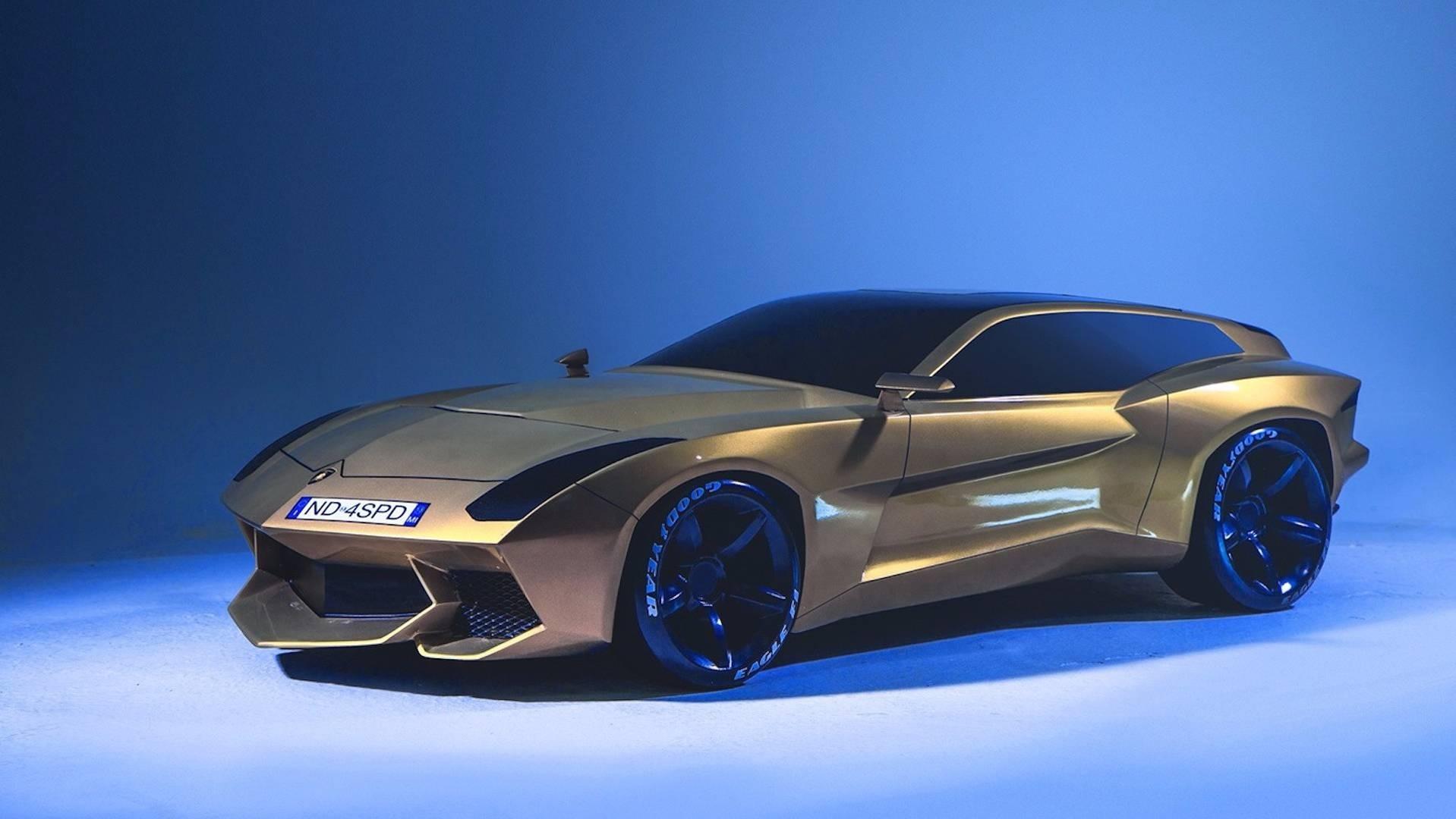 Концепт-кар Lamborghini Shooting Brake наврядли будет реальностью